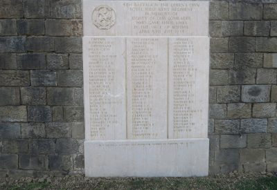 Name Roll of the 4th Battalion the Queen's own Royal West Kent Regiment