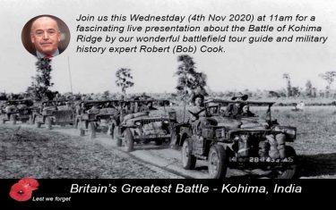 The Battle of Kohima Talk 4 November 2020