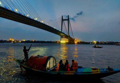 Boating on the River Hoogly Kolkata