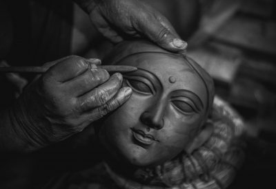 Painting the Idol of Durga